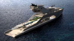 Ce yacht est beaucoup trop luxueux pour l'entendement