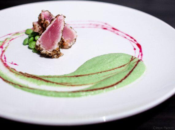Duo gourmand: Tataki de thon