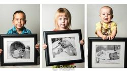 Les touchantes photos «avant-après» de bébés prématurés