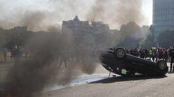 Les taxis contre Uber causent d'importantes perturbations en France