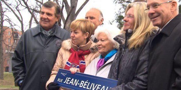 La nouvelle rue Jean-Béliveau ne fait pas que des heureux à