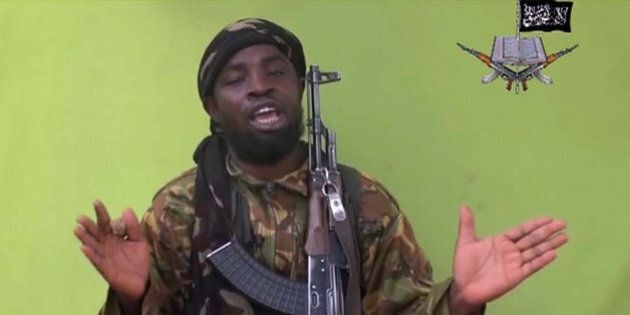 FILE -This May 12, 2014, file photo taken from video by Nigeria's Boko Haram terrorist network, shows...