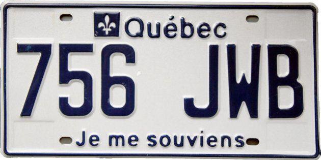 Les plaques d'immatriculation au Québec, une longue histoire