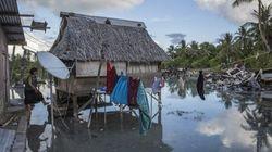 Il photographie la montée des eaux