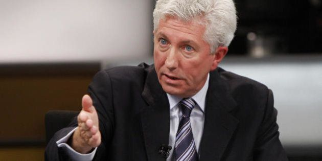 Bloc Quebecois leader Gilles Duceppe speaks during the French language debate at the National Arts Centre...