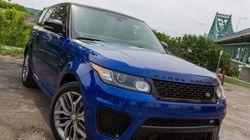 Range Rover Sport SVR 2015 : un monstre