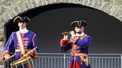 350e anniversaire du régiment de