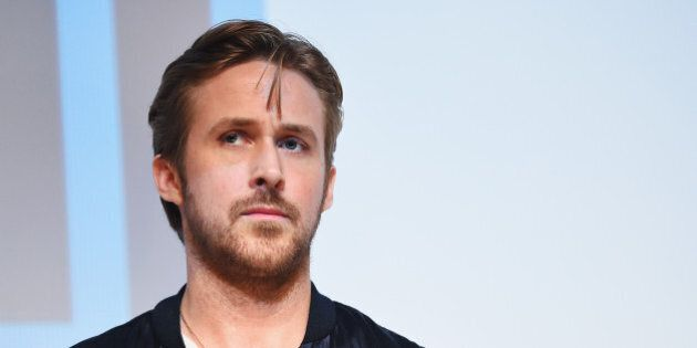 AUSTIN, TX - MARCH 14: Director/writer Ryan Gosling takes part in a Q&A following the 'Lost River' premiere...