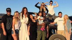 Caitlyn Jenner célèbre la fête des pères en