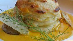 Lasagnette aux légumes racines et sauce