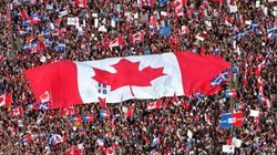 Mulcair était chez lui, «au Québec», au rassemblement pro-Canada de