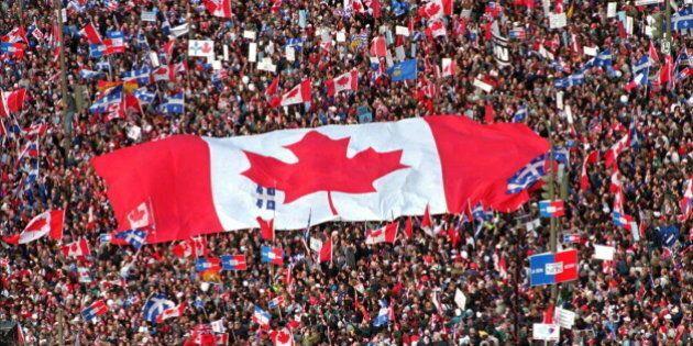 Rassemblement pro-Canada de 1995 : Thomas Mulcair était chez lui, «au