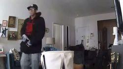 Il assiste en direct au cambriolage de son appartement