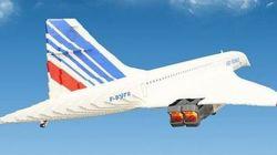 Ce Concorde a été construit avec... 65 000 briques Lego!