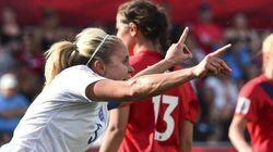 Mondial féminin: les Anglaises face au Canada à Vancouver,