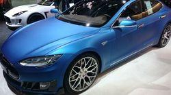 Brabus modifie la Tesla Model S