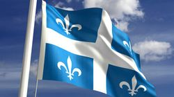 Le drapeau d'une nation assujettie à une