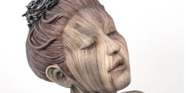 Ces sculptures en bois ne sont