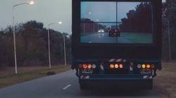 Un camion «transparent» pour réduire les accidents de la