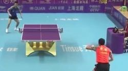 Ping-pong: 41 coups en 35 secondes