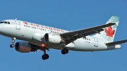 Un vol d'Air Canada dévié... pour sauver un