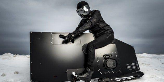 Voici Snoped, une motoneige futuriste qui en