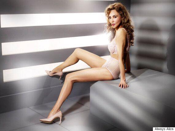 À 62 ans, le mannequin Marie Helvin devient le visage d'une ligne de lingerie
