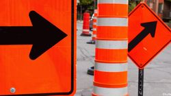 Les chantiers routiers à Montréal éloignent les