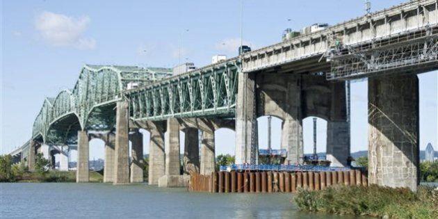Travaux majeurs sur le pont Champlain en fin de