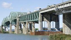 Travaux sur le pont Champlain en fin de