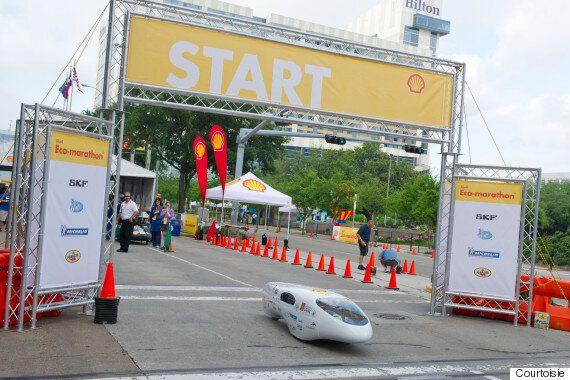 Alérion Supermileage : une voiture qui consomme 0,09 litre aux 100 km