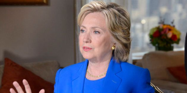 ABC NEWS - David Muir conducts a one-on-one interview with Democratic Presidential Candidate Hillary...