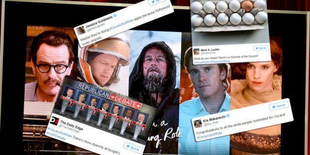 Les nominations aux Oscars 2016 font une nouvelle fois polémique pour leur manque de