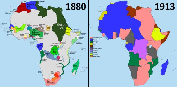 La meilleure explication du parcours africain: géographie ou