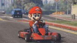 Mario Kart mélangé à GTA V, ça donne ça