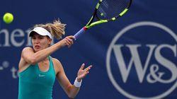 Eugenie Bouchard est éliminée par Strycova au premier tour à