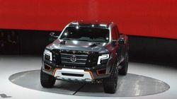 Le Nissan Titan Warrior à Détroit: un pas en avant