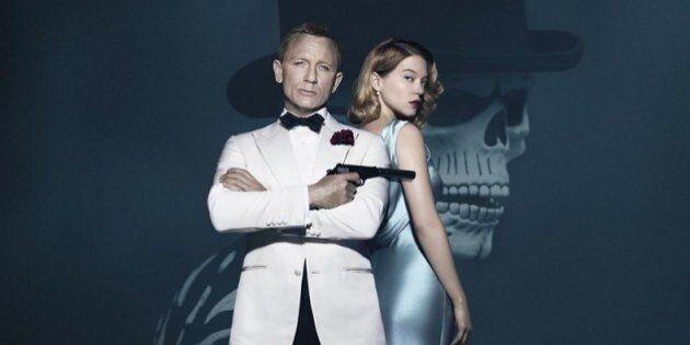 L'actrice française Léa Seydoux prend la pose aux côtés de James Bond pour «007 Spectre»