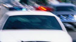 Un suspect arrêté alors qu'il arrachait avec les dents le visage d'un
