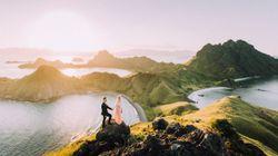 Les meilleures destinations pour des photos de mariage de rêve