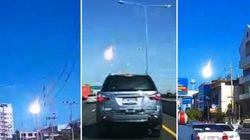 Une météorite traverse le ciel de Bangkok