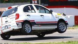 Bertrand Godin à la Coupe Nissan Micra, ou le jeune et le vétéran