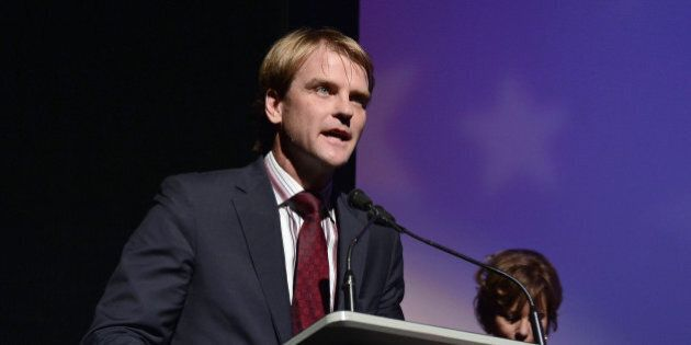 TORONTO, ON - SEPTEMBER 14: Minister of Citizenship and Immigration Chris Alexander speaks at the 'Life...