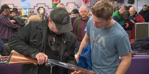 Les opposants au registre québécois des armes à feu