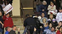 Une musulmane portant un hijab éjectée du rassemblement de Donald