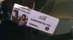 Des autocollants montrant l'État islamique à Repentigny : la police