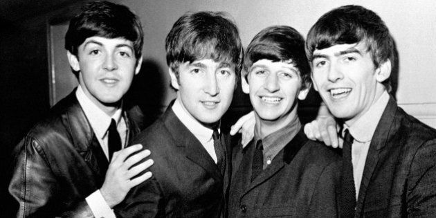 File photo dated 01/06/63 of The Beatles, (left to right), Paul McCartney, John Lennon, Ringo Starr and George Harrison as exactly 50 years ago tomorrow The Beatles stepped aboard a Pan Am Boeing 707 in London and within hours were descending to the tarmac at New York's JFK Airport, to be confronted by hysteria as 5,000 fans greeted them.