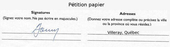 Des pétitions détournées par les partis