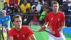 Vasek Pospisil et Daniel Nestor s'inclinent en