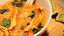 Soupe thaïlandaise à la dinde signée Max